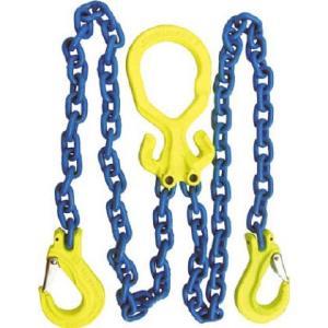 ●チェーン長さ調整機能付チェーンスリングで偏荷重物を吊るのに最適です。  ●荷役・運搬作業用。  ●...