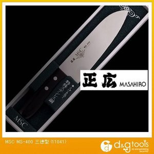 正広 包丁MS-400三徳型ステンレス包丁 11041|diy-tool