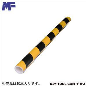 エムエフ 単管カバー トラ模様  8t×48.6φ内×1m  10 本|diy-tool