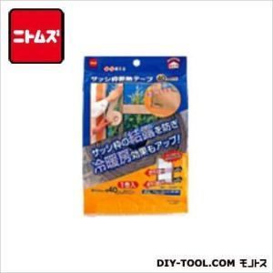 ニトムズ サッシ枠断熱テープ ブロンズ 40mm×7m E0301|diy-tool