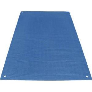 ワニ印 養生敷板 ワニ板 ブルー 16mm×1.1m×1.8m 004945 1 枚|diy-tool