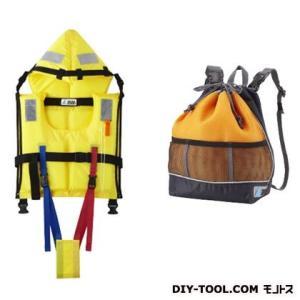 TSUNA GUARD ツナガード子供用固型式ライフジャケット&巾着型リュック TG-Y2O