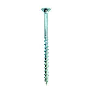 匠力 TRコーススレッド(半ネジ) ユニクロメッキ 4.2mm×65mm TRC65 500本|diy-tool