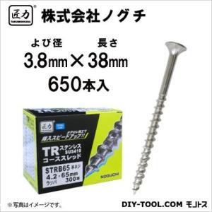 匠力 TR ステンコーススレッド (410) 全ネジ 3.8mm×38mm STRB38 650本|diy-tool