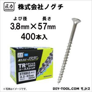 匠力 TR ステンコーススレッド (410) 半ネジ 3.8mm×57mm STRB57 400本|diy-tool