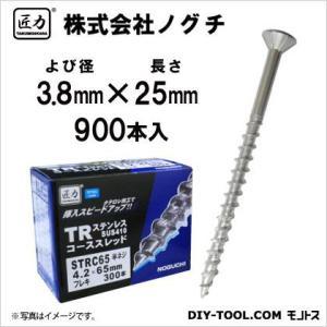 匠力 TR ステンコーススレッド フレキ (410)  全ネジ 3.8mm×25mm STRC25 900本|diy-tool