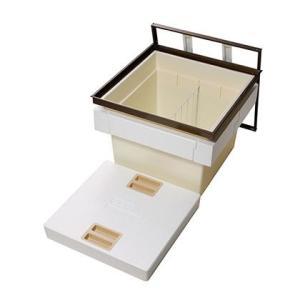 匠力 気密断熱床下収納庫 深型 ブロンズ 外形寸法(mm):616×616×高さ463 間口寸法(mm):606×606 N6DBJ diy-tool