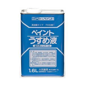 ニッペホーム ペイントうすめ液 1.6L|diy-tool