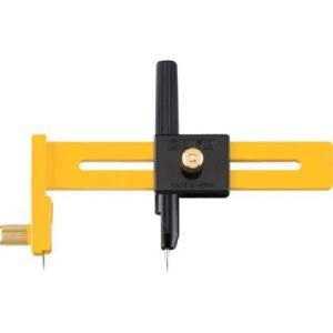 【特長】コンパスを使う要領で、紙・ビニール・フィルムなどの薄物を円形にカットできる便利なカッターです...