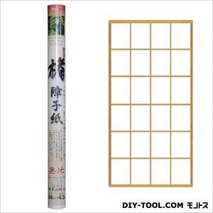大直 楮障子紙 目安:丈長障子2枚分 無地 94cm×4.3m KZ-01の商品画像|ナビ