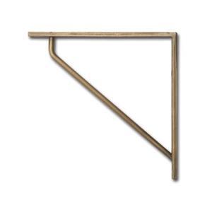 ポッシュリビング ブラケットS アンティークゴールド 巾15×奥1×高15cm 63188|diy-tool