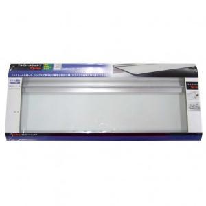 Q-ho レールシェルフ強化ガラス 棚板平面部寸法120×600mm T1522|diy-tool