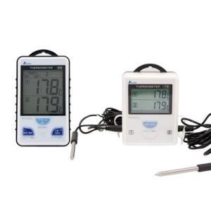 シンワ測定 ワイヤレス温度計 A 最高・最低隔測式ツインプローブ 防水型 ホワイト 73241 1セ...