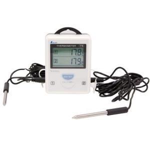 シンワ測定 ワイヤレス温度計A子機 ホワイト 73242 1