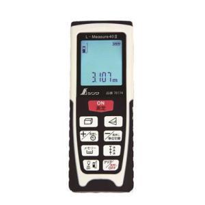 シンワ測定 レーザー距離計 L-Measure40 II 尺相当表示機能付 ホワイト  78174|diy-tool