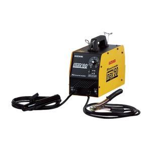 電流制御がスムーズで安定したアークで仕上がりがキレイなインバータ制御 持ち運びに便利な小型・軽量設計...