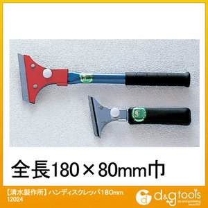 特 長 ラクダハンディスクレッパは様々なハガシ作業に対応します。刃はすべて替刃式で市販のカッター刃が...