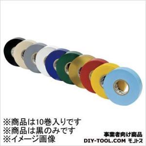 3M(スリーエム) 電気絶縁用ビニールテープ No.117 黒 19mm×20m 10巻