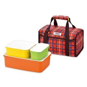 保冷バッグ付き 行楽ランチボックス。専用保冷バッグと保存容器3点のセットです。4〜6人家族向け。 サ...