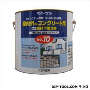 サンデーペイント 水性塗料下塗り剤No.10 3L diy-tool