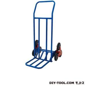 シシク 2輪運搬台車(スチール製、階段昇降タイプ)  荷台サイズ:350×370mm HT0101N|diy-tool