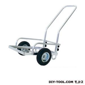 シシク 農業・園芸用運搬台車 (アルミコンテナ台車)  荷台サイズ:380×530mm TC-2002A|diy-tool