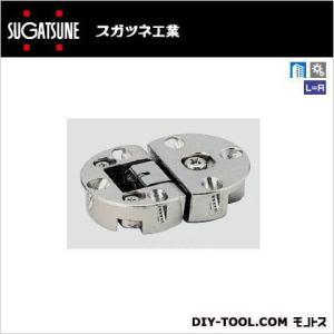 スガツネ(LAMP) ドロップ丁番 ニッケルめっき SDH-001 1|diy-tool