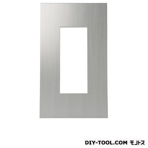 スガツネ(LAMP) クールメタルシリーズスイッチ・コンセントプレート ヘアライン仕上 PXP-ES01-HL|diy-tool