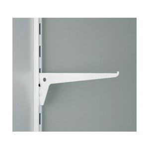 スガツネ(LAMP) 棚受10105型棚柱10000型、10001型用 ホワイト 10105-00101 1|diy-tool