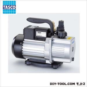 タスコ オイル逆流防止弁付高性能ツーステージ真空ポンプ 幅×...