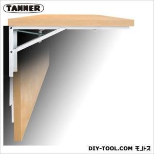 TANNER 大型折りたたみ式棚受「ジャンボ」 白 奥行60cm B-60|diy-tool
