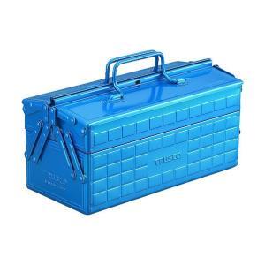 トラスコ(TRUSCO) 2段工具箱350X160X215ブルー 168 x 368 x 188 mm ST350B 1 diy-tool
