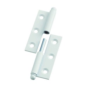 トラスコ(TRUSCO) スチール製抜き差し蝶番左用(1組(袋)=2個入) 79 x 86 x 10 mm 2個|diy-tool
