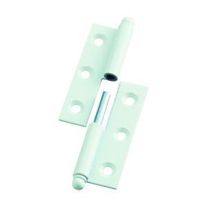 トラスコ(TRUSCO) スチール製抜き差し蝶番左用(1組(袋)=2個入) 79 x 88 x 11 mm 2個|diy-tool