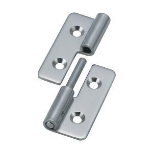 トラスコ(TRUSCO) ステンレス製抜き差し蝶番左用全長40mm 50 x 41 x 8 mm TNH-40CL 1個 diy-tool