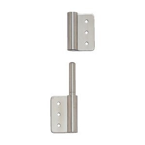 トラスコ(TRUSCO) ステンレス製抜き差し旗蝶番右用全長50mm 107 x 43 x 13 mm TLS-100RX 1個 diy-tool