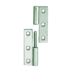 TRUSCO ステンレス製抜き差し蝶番右用全長64mm TKN-64CR 1個|diy-tool