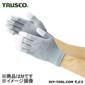 TRUSCO 指先コート静電気対策用手袋Mサイズ...の商品画像