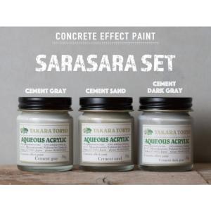 タカラ塗料 コンクリートエフェクトペイント打ちっぱなしコンクリート風な表現が出来る塗料 4kg+200g+200g diy-tool 02