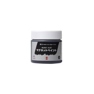 ターナー色彩 マグネットペイント(磁石がつく水性塗料) 黒 ...