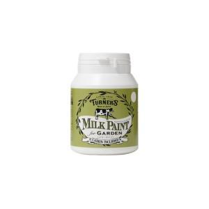 ターナー色彩 【新商品】 ミルクペイントforガーデン ミルキーホワイト 200ml MKG20301 ペンキ アンティーク|diy-tool