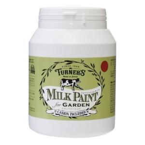 ターナー色彩 【新商品】 ミルクペイントforガーデン クランベリーレッド 450ml MKG45334 ペンキ アンティーク|diy-tool