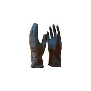 ワタベ 低圧ゴム手袋(薄手タイプ)直流750V以下 281 x 153 x 51 mm 1