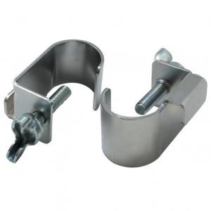 【特長】 穴あきボードを伸縮ポールに固定する金具です。 穴あきボードを伸縮ポールに固定する金具です。...