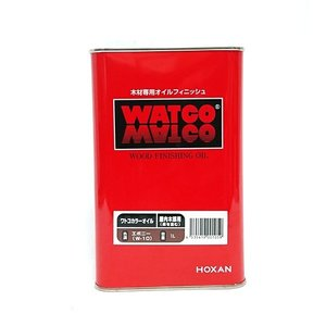 ワトコ社 ワトコオイル浸透性木材用塗料 エボニー W-10 1缶