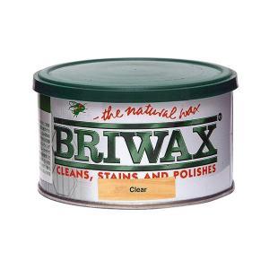 ブライワックス(BRIWAX) トルエンフリーワックス蜜蝋ワックス クリア 370ml 屋内 木部用...