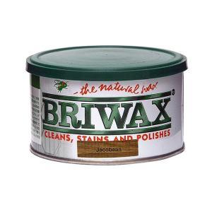 ブライワックス(BRIWAX) トルエンフリーワックス 蜜蝋ワックス ジャコビアン 370ml 1個