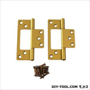 フラッシュ蝶番 GC色 89mm 17445 1袋(2枚)|diy-tool