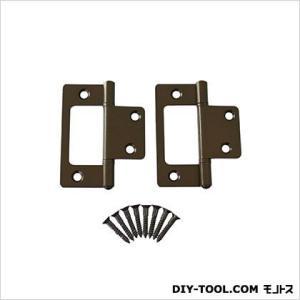 フラッシュ蝶番 セントク色 64mm 17447 1袋(2枚)|diy-tool
