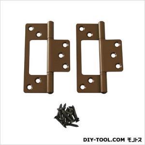 フラッシュ蝶番 セントク色 89mm 17449 1袋(2枚)|diy-tool